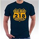 Mens Navy Blue 218 T-Shirt